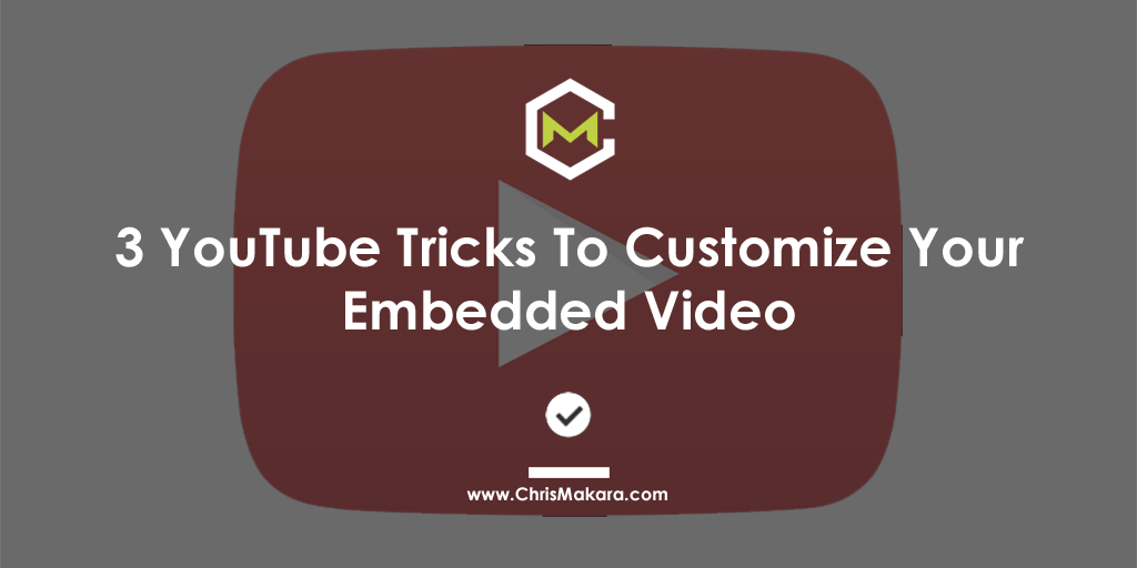 youtube embed tricks