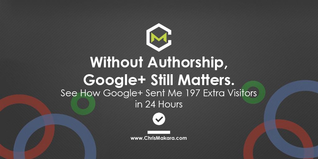google plus authorship matters