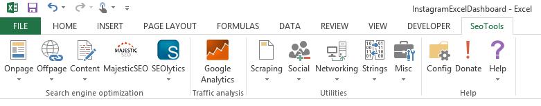 SEO Tools Excel