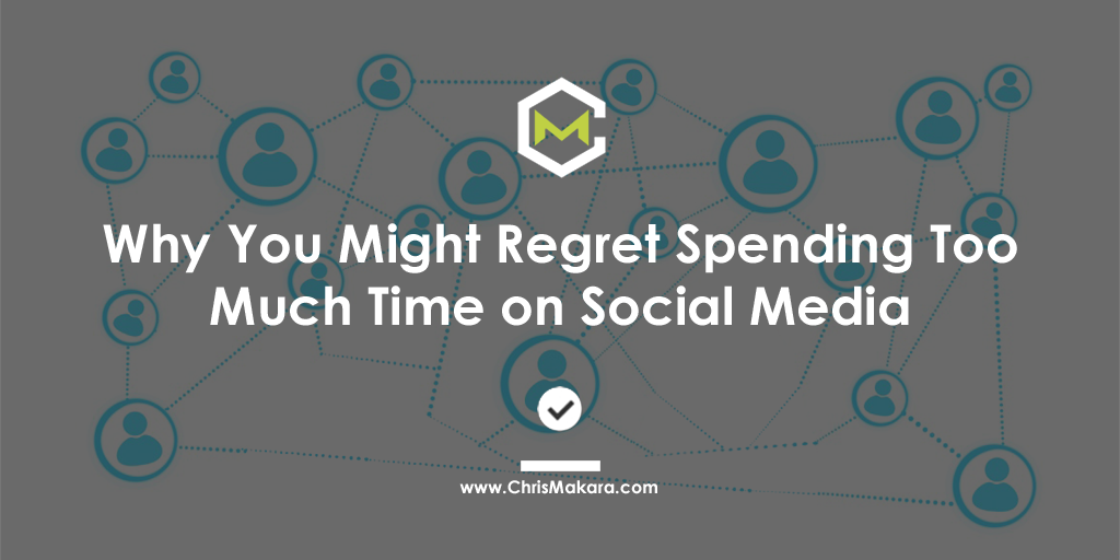 regret spending time on social media