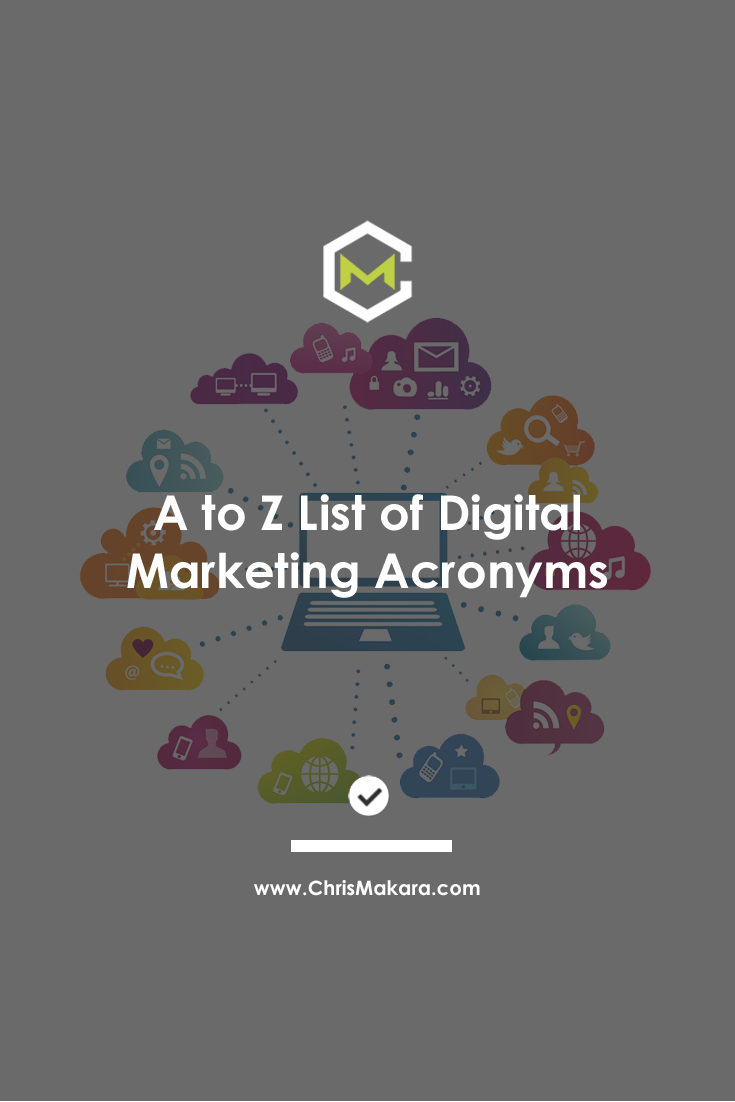 digital marketing acronyms