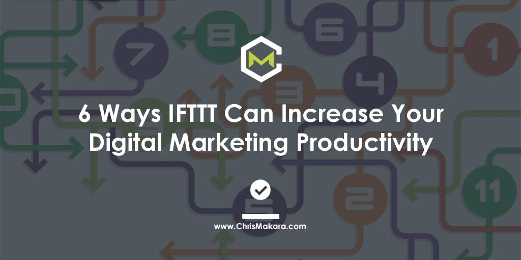 ifttt digital marketing