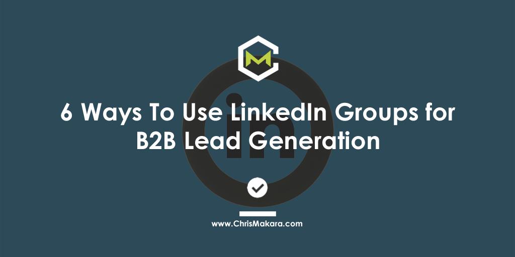 b2b leads on linkedin
