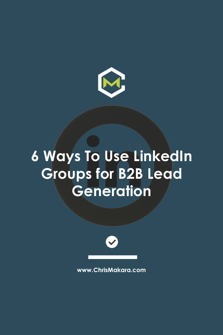 linked groups for leads