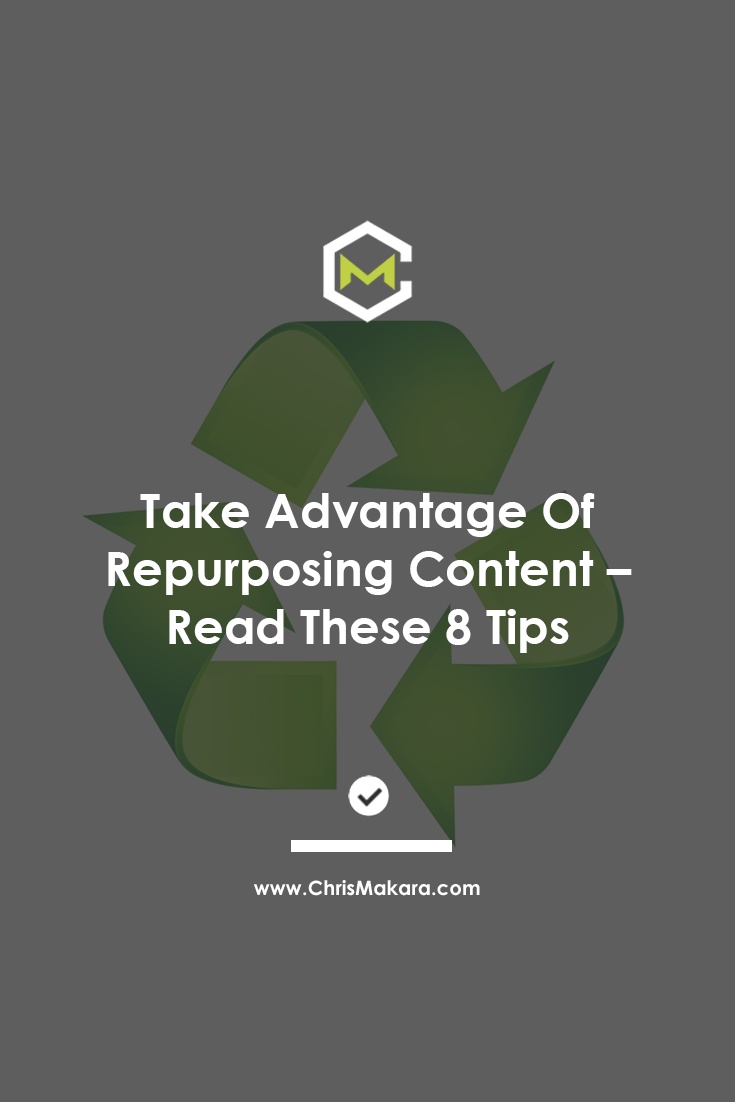 advantage of repurposing content