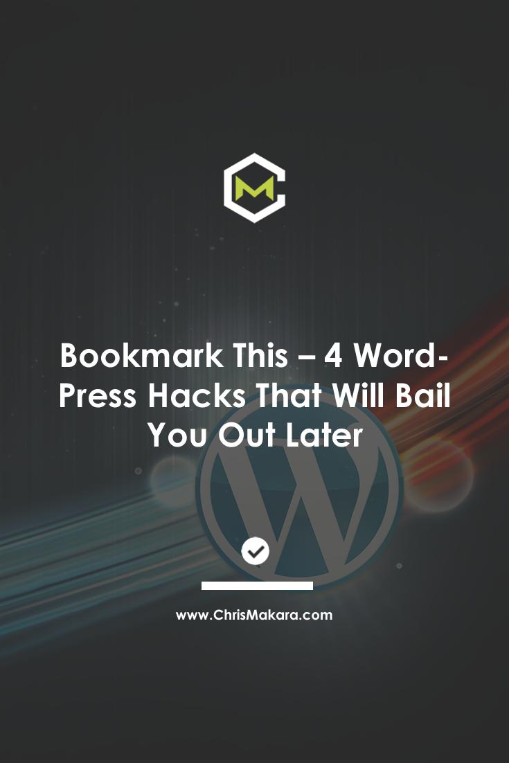 wordpress hacks to remember